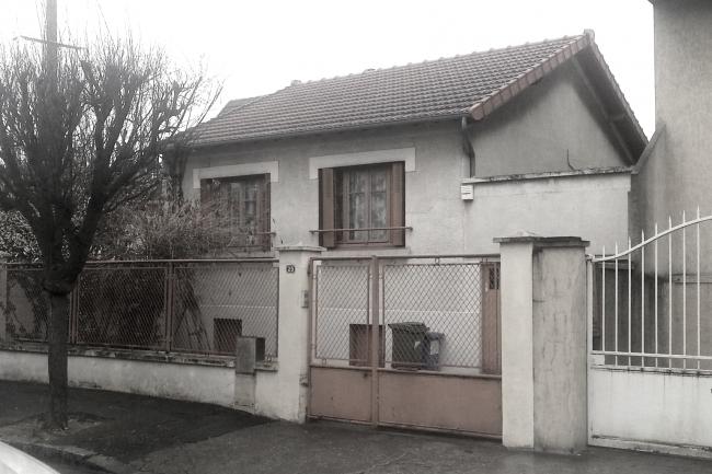 Maison avant travaux: façade sur rue